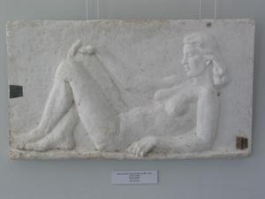 S.-R. Riig-Schönberg 'Lamav naine' (1940) kips
