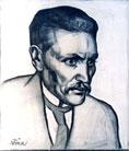 N. Triik - Juhan Liivi portree