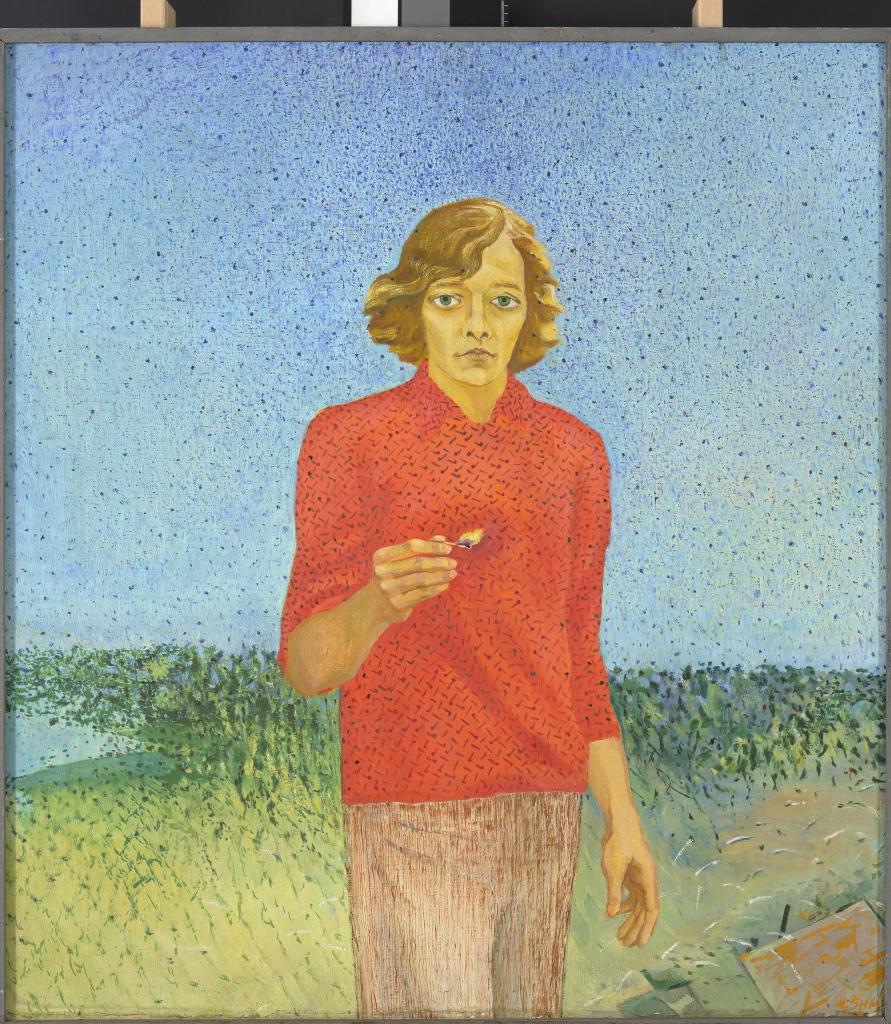 Ludmilla Siim. Juhan Viidingu portree. 1971. Eesti Kunstimuuseum