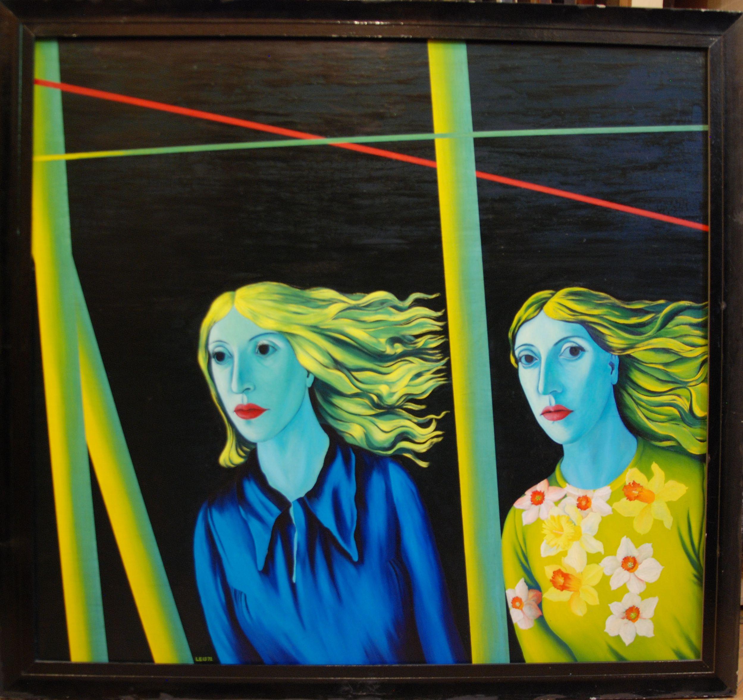Malle Leis. Tüdrukud. 1972. Tartu Kunstimuuseum