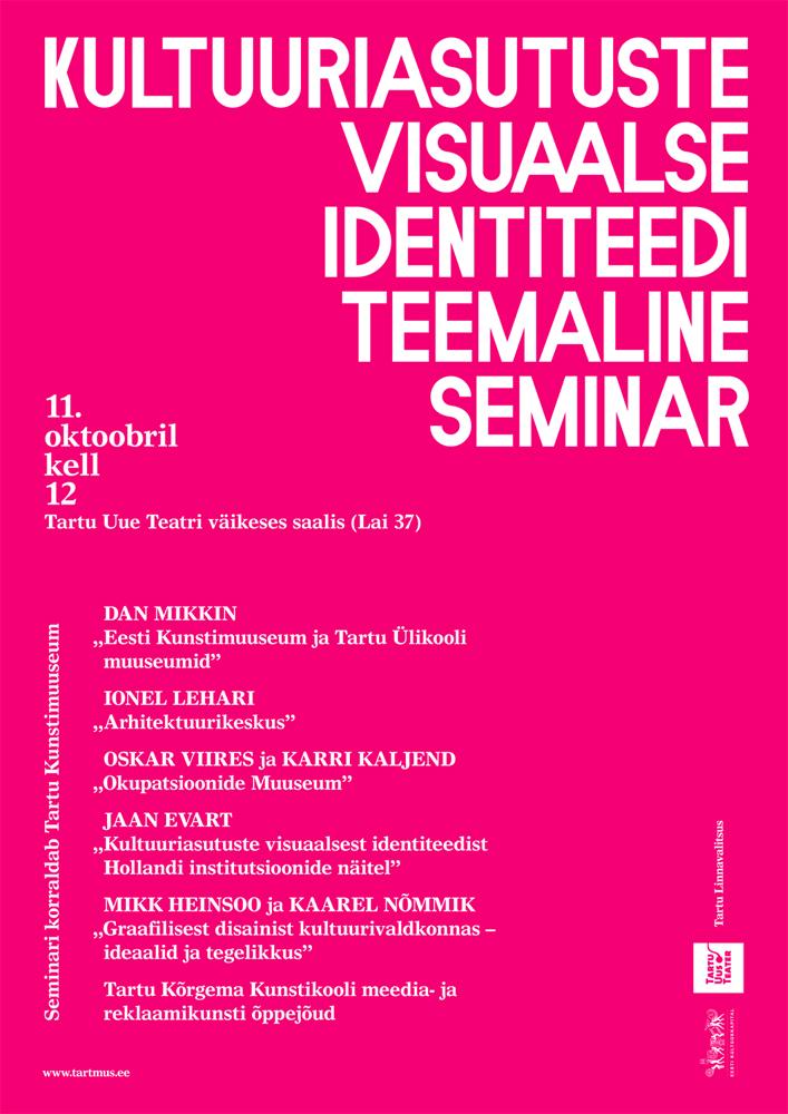visuaalse id seminar