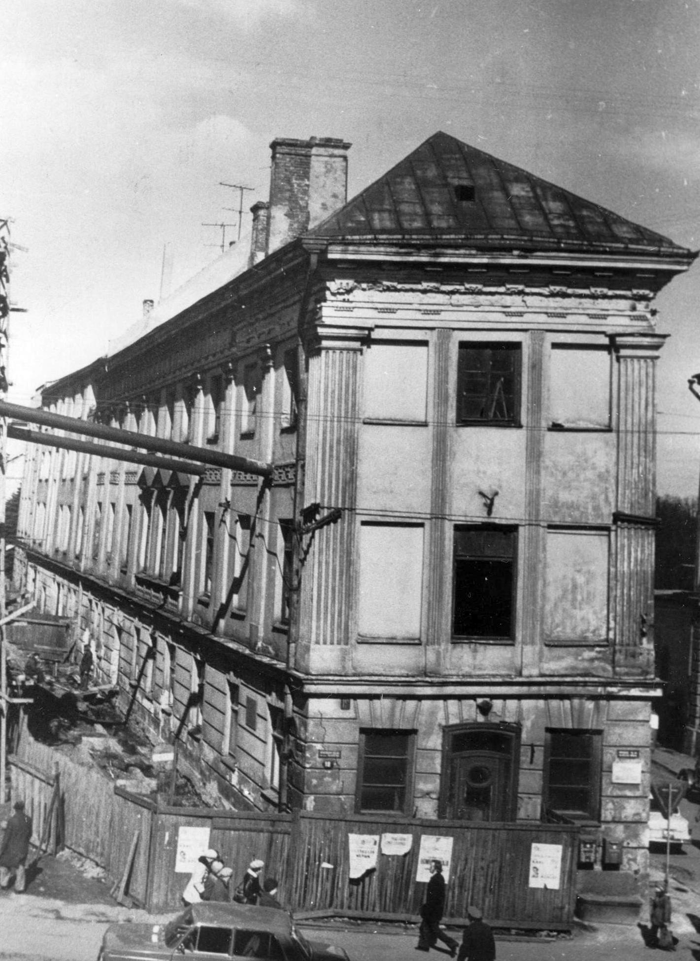 Muuseumi näitusemaja enne restaureerimist