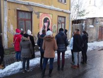 Street Art Guided Tour and Workshop 15.11.2016